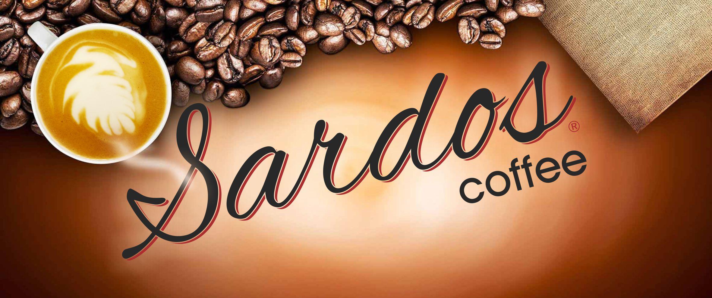 Sardos Coffee Banner